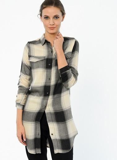 Uzun Kareli Gömlek-Cazador